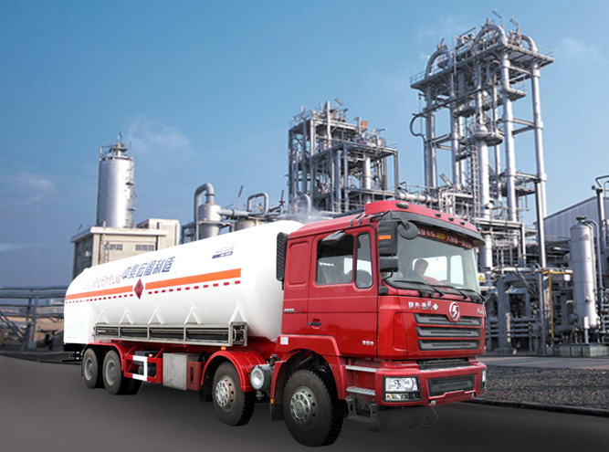 HT5310GDYT1 Cryogenic liquid tank truck(LNG Vehicle)