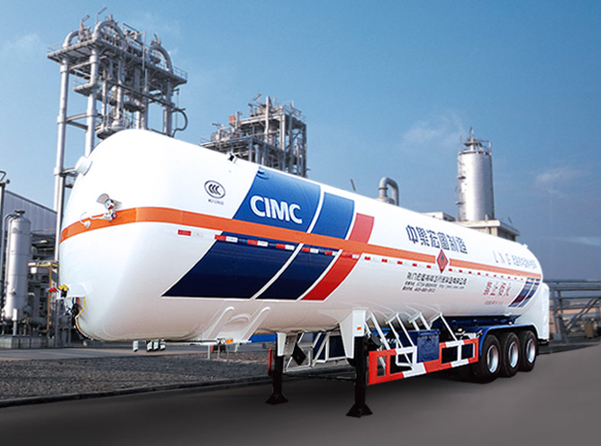 HT9400GDYF3 Cryogenic liquid tank semi-trailer(LNG Vehicle)