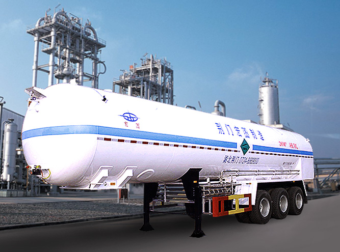 HT9403GDY1 Cryogenic liquid tank semi-trailer(LNG Vehicle)