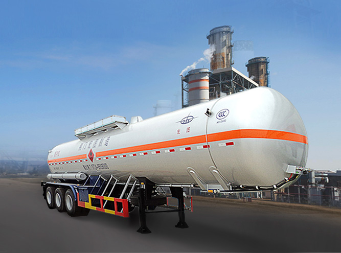 HT9404GHY Chemical liquid tank semi-trailer(Chemical Vehicle)