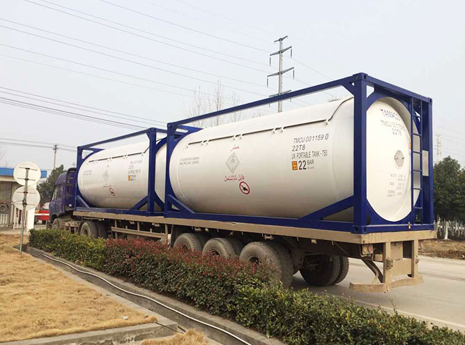24m³ Tank(Chemical Vehicle)
